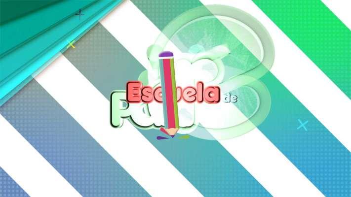 Imagen de la cabecera del programa de televisión Escuela de Padres
