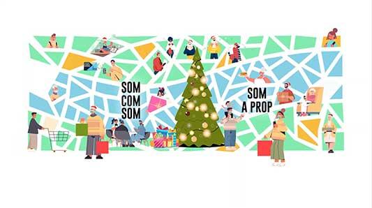 Campaña Navidad 2020. CC Ribera del Xúquer